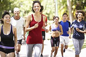 joggende Frauen