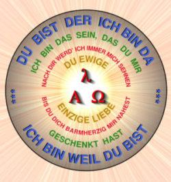 Symbol für die Verehrung Gottes