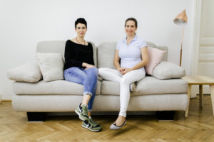 Dr. Jasmin Rahhal-Schupp und Amelie Zitny