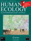 Springer-Fachzeitschrift Human Ecology