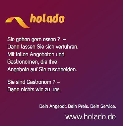 Holado ist ein Gastronomenverzeichnis