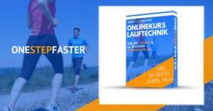 Abbildung des Onlinekurses Lauftechnik mit Läufern auf einem Feldweg
