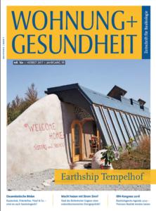 Cover der Zeitschrift Wohnung und Gesundheit