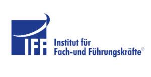 Das Logo in Blai weiß Institut für Fach- und Führungskräfte