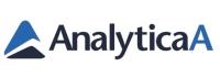 Logo der Firma Analytica in blau-schwarz