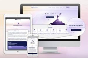 Desktop, Handy und Tablet zeigen Infos rund ums Erben