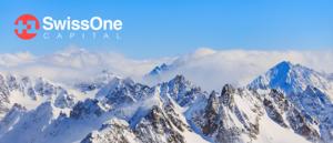 Die Berge der Schweiz als Logo