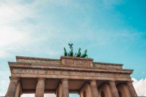 Ausschnitt des Brandenburger Tors
