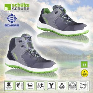 Arbeitsschuhe in moderne Sneaker-Optik