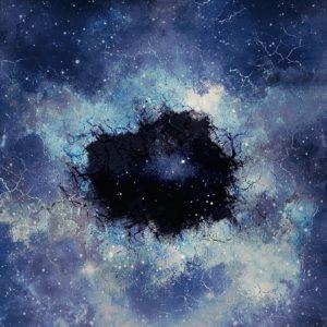 Darstellung eines schwarzen Lochs