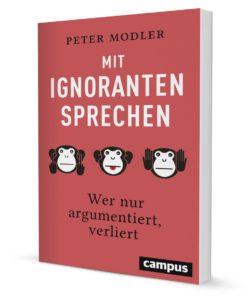 """Cover des Buches """"mit Ignoranten sprechen"""""""