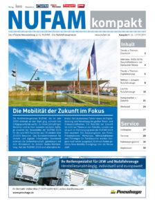 Cover der Fachzeitschrift NUFAM