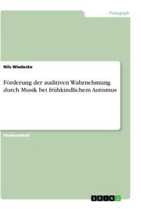 Cover des Ratgebers zu musikgestützter Heilpädagogik