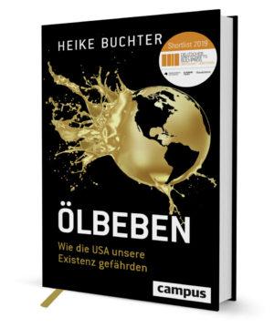 """Cover des Buches """"Ölbeben"""" von Heike Buchter"""