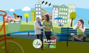 gesund leben und die Umwelt schützen