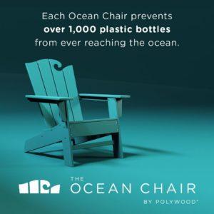 Bild des Ocean Chairs aus recyceltem Plastik