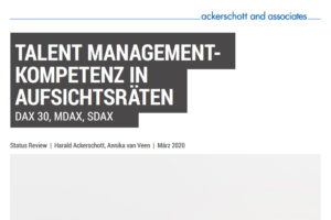 Flyer zum Talent-Management