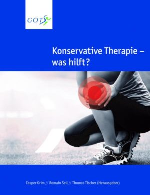 """Cover """"konstervative Therapie - was hilft?"""""""