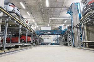 vollautomatisches Parkhaussystem