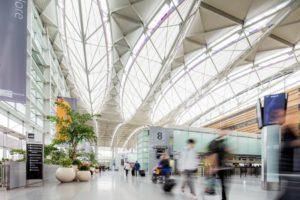 Flughaven von Innen