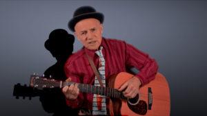 Robert Metcalf mit Gitarre