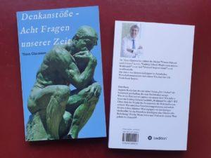 """Cover des Buches """"Denkanstöße - Acht Fragen unserer Zeit"""""""