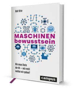 """Cover des Buches """"MASCHINENbewusstsein"""""""