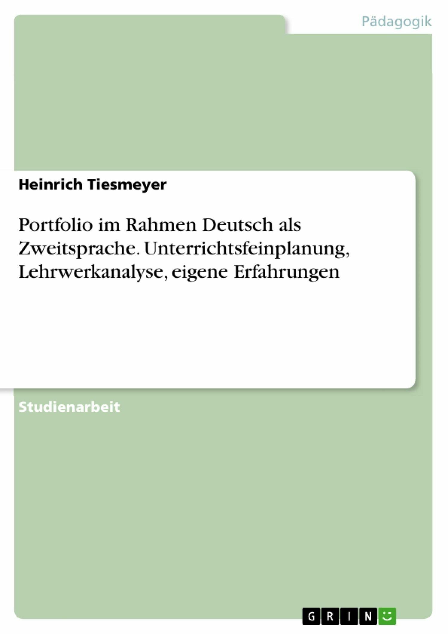 Zusatzqualifikation Deutsch Als Zweitsprache