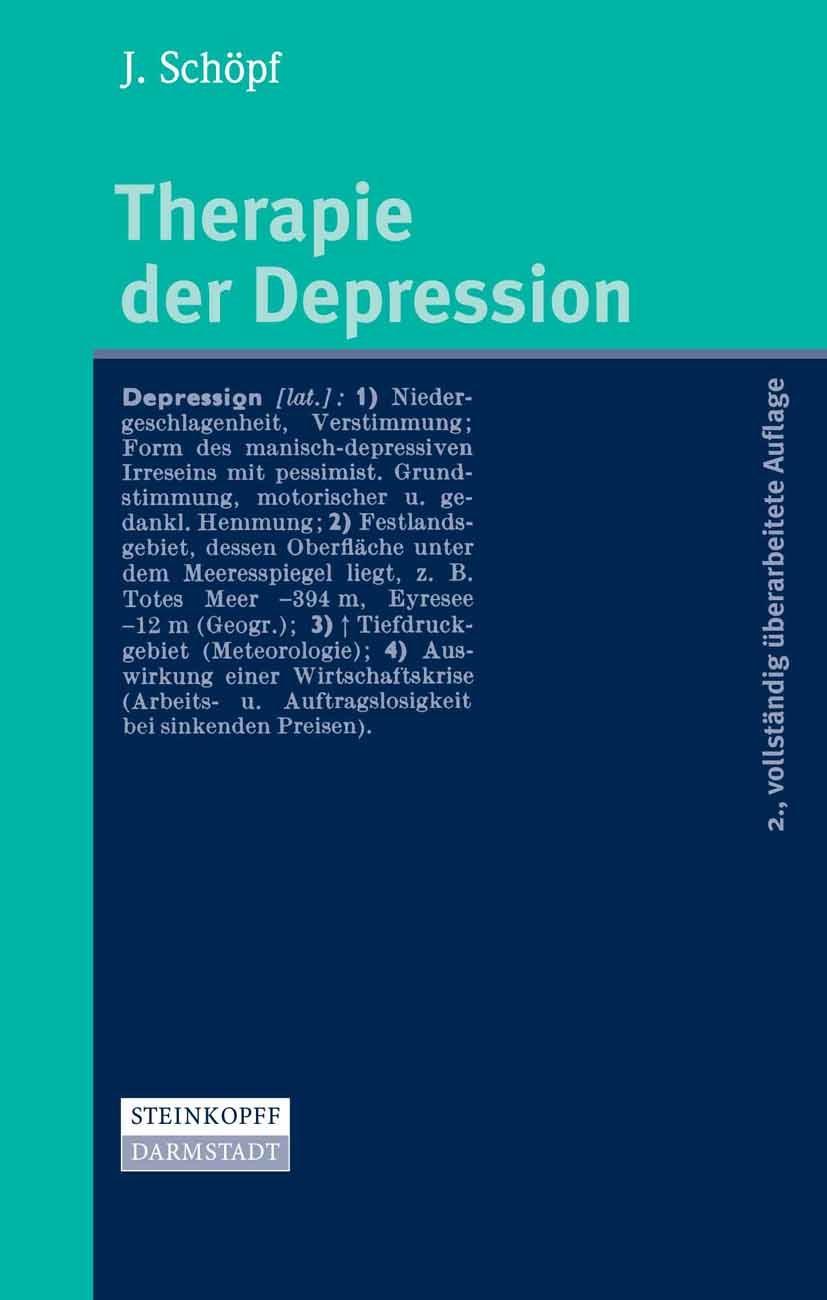 Therapie der Depression - PDF eBook kaufen | Ebooks