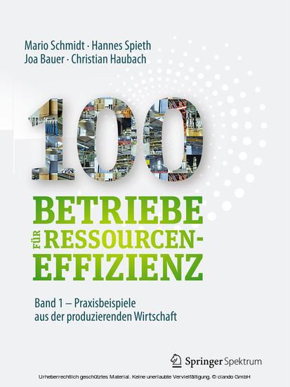 100 Betriebe für Ressourceneffizienz - Band 1 - Blick ins Buch