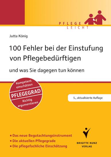100 Fehler bei der Einstufung von Pflegebedürftigen - Blick ins Buch
