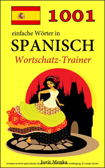 1001 einfache Wörter in Spanisch - Blick ins Buch