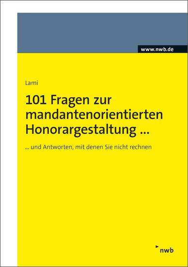 101 Fragen zur mandantenorientierten Honorargestaltung - Blick ins Buch