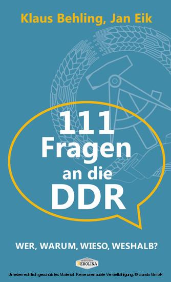 111 Fragen an die DDR - Blick ins Buch