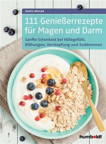 111 Genießerrezepte für Magen und Darm - Blick ins Buch