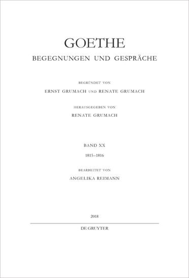 1815-1816 - Blick ins Buch