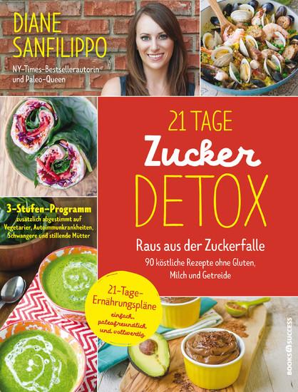 21-Tage-Zucker-Detox - Blick ins Buch