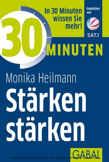 30 Minuten Stärken stärken - Blick ins Buch