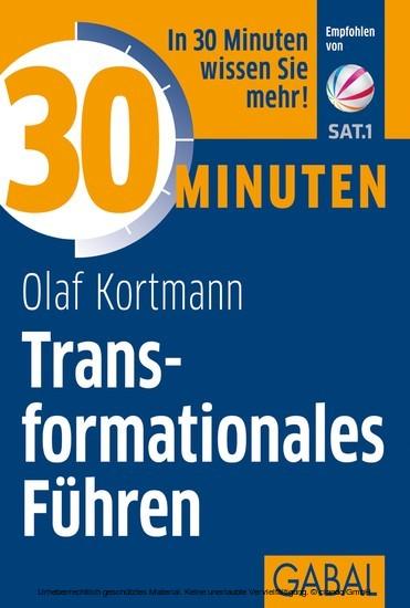 30 Minuten Transformationales Führen - Blick ins Buch