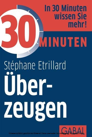30 Minuten Überzeugen - Blick ins Buch