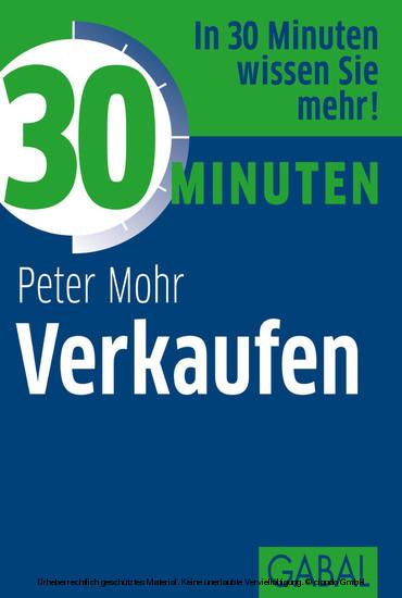 30 Minuten Verkaufen - Blick ins Buch