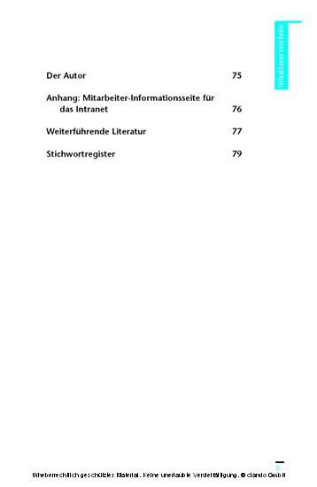 30 Minuten Wissensmanagement als Wettbewerbsvorteil - Blick ins Buch