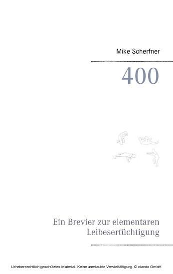 400 - Blick ins Buch