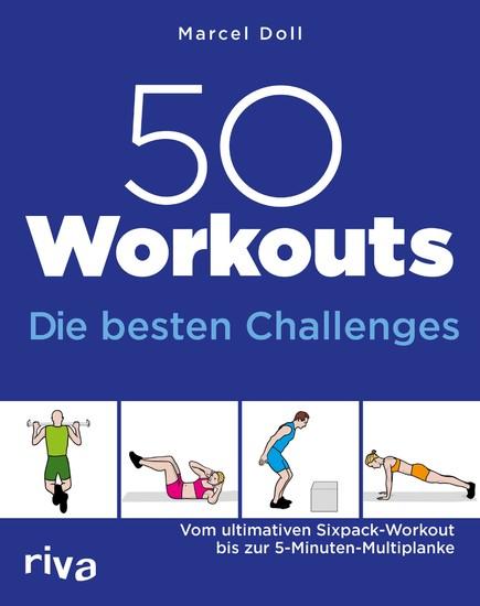 50 Workouts - Die besten Challenges - Blick ins Buch