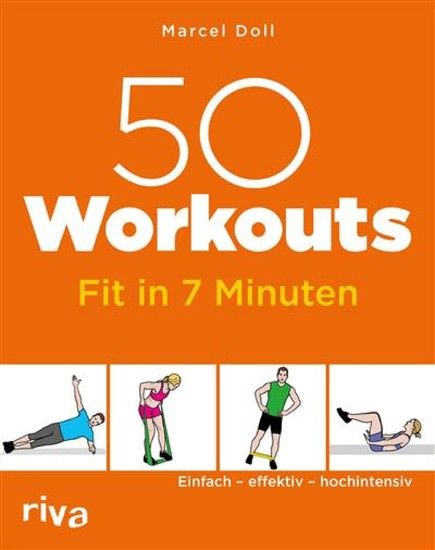 50 Workouts - Fit in 7 Minuten - Blick ins Buch