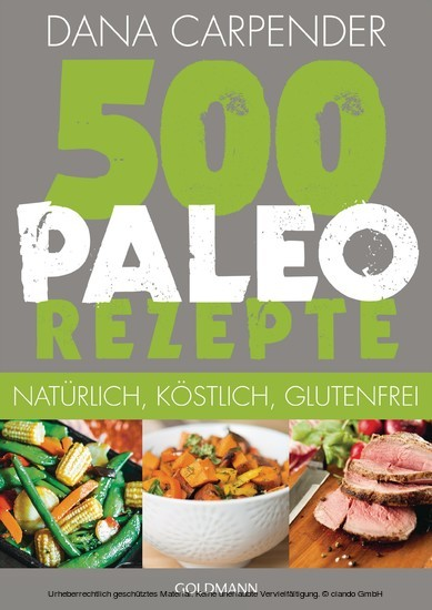 500 Paleo-Rezepte - Blick ins Buch