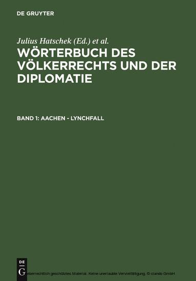 Aachen - Lynchfall - Blick ins Buch