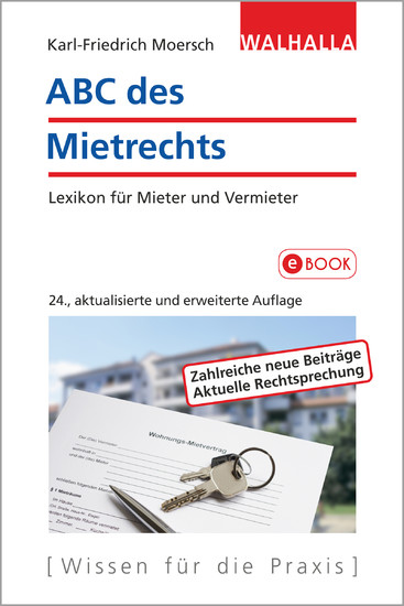 ABC des Mietrechts - Blick ins Buch