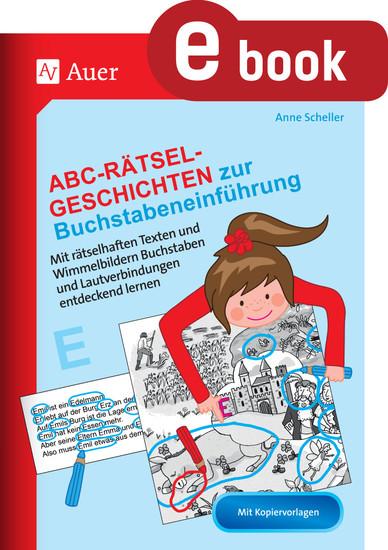 Abc-Rätsel-Geschichten zur Buchstabeneinführung - Blick ins Buch