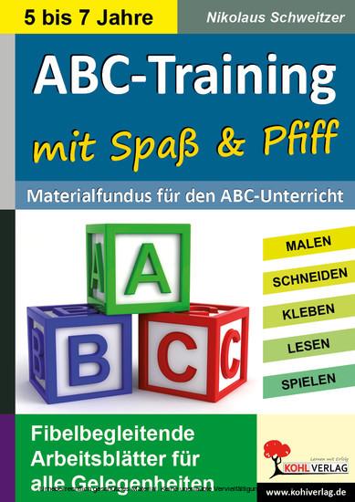 ABC-Training mit Spaß und Pfiff - Blick ins Buch